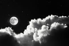 Nachtszene stockbilder
