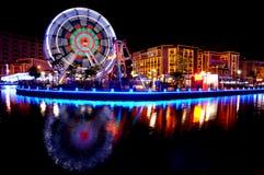 Nachtszene in Melaka Lizenzfreie Stockfotografie