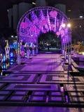 Nachtszene in Shatin Festval lizenzfreie stockfotografie