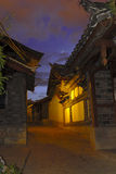 Nachtszenen von Lijiang Lizenzfreies Stockbild