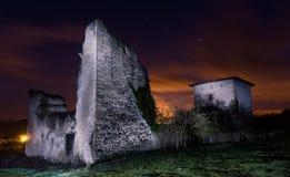 Nachtturm Stockbild