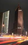 Nachtverkehr Lizenzfreie Stockfotografie