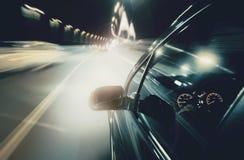 Nachtverkehr Lizenzfreies Stockbild