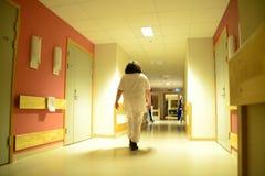Nachtverpleegster Royalty-vrije Stock Afbeeldingen