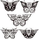 Nachtvlinder, hawkmoth royalty-vrije illustratie