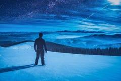 Nachtwanderer Stockfoto