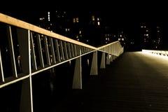 Nachtweg lizenzfreies stockfoto