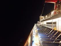 Nachtwege Stockbild