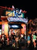 Nachtzeit bei im Stadtzentrum gelegenem Disney Orlando, Florida stockfotos
