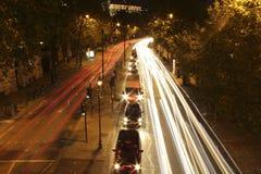 Nachtzeit London Lizenzfreie Stockfotografie