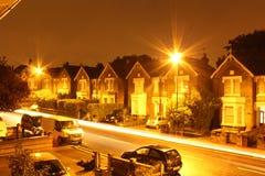 Nachtzeit London Lizenzfreies Stockfoto