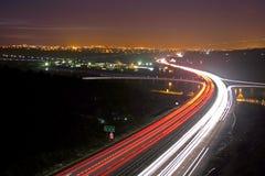 Nachtzeit-Reise lizenzfreies stockbild