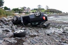 Nachwirkungen des Autounfalls Lizenzfreie Stockbilder