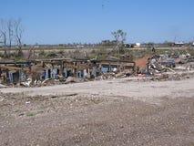 Nachwirkungen des Hurrikans Katrina nahe See Ponchartrain stockfotografie