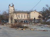 Nachwirkungen von Katrina lizenzfreies stockfoto