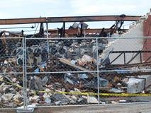 Nachwirkungen von sechs Warnung Dallas Fire Lizenzfreies Stockfoto