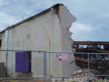 Nachwirkungen von sechs Warnung Dallas Fire Lizenzfreie Stockfotos
