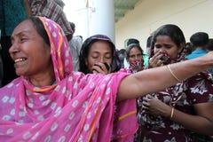 Nachwirkungs-Rana-Piazza in Bangladesch (Dateifoto) Lizenzfreie Stockbilder