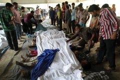 Nachwirkungs-Rana-Piazza in Bangladesch (Dateifoto) Stockfotos