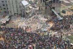 Nachwirkungs-Rana-Piazza in Bangladesch (Dateifoto) Stockfoto
