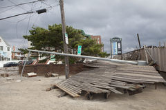 Nachwirkungshurrikan Sandy Stockfotos