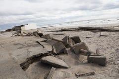Nachwirkungshurrikan Sandy Lizenzfreie Stockfotos