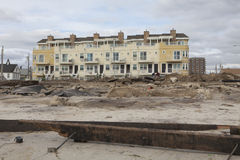 Nachwirkungshurrikan Sandy Stockfoto