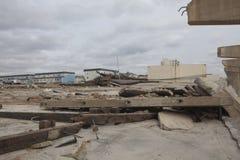Nachwirkungshurrikan Sandy Stockbilder