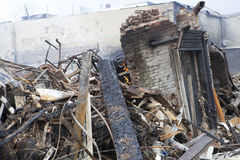Nachwirkungshurrikan Sandy Lizenzfreie Stockbilder