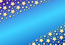 nachylenie diagonalne gwiazd niebieskich ilustracji