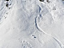 nachylenie narciarski Obraz Stock