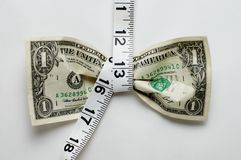 naciśnij dolara Zdjęcie Stock
