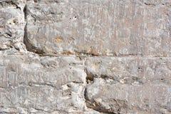 Nacierający będący ubranym kamienny tekstury zakończenie zdjęcie royalty free