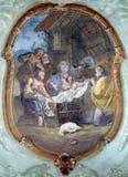 Nacimiento de Jesús Imágenes de archivo libres de regalías