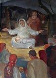 Nacimiento de Jesús Fotografía de archivo libre de regalías