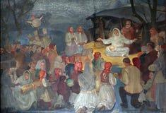 Nacimiento de Jesús Foto de archivo libre de regalías
