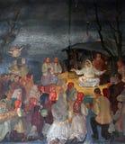 Nacimiento de Jesús Foto de archivo