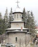 Nacimiento de la Virgen Mary Royal Church de Busteni (Prahova), Rumania Fotografía de archivo