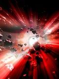 Nacimiento del ` s de la supernova ilustración del vector