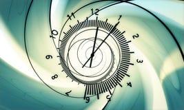 Nacimiento del tiempo. hola la resolución 3d rinde. Fotografía de archivo libre de regalías