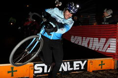 Nacionais 2009 de Cyclocross Imagem de Stock