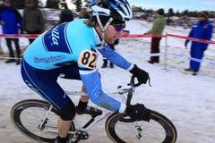 Nacionais 2009 de Cyclocross (Chris Sheppard) Imagem de Stock