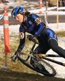 Nacionais 2009 de Cyclocross (Chris Sheppard) Foto de Stock Royalty Free