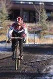 Nacionais 2009 de Cyclocross (icebergue de Kristi) Foto de Stock Royalty Free