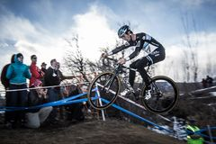 2014 nacionais de USAC Cyclocross Imagem de Stock Royalty Free