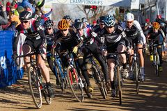 2014 nacionais de USAC Cyclocross Fotos de Stock Royalty Free