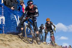 2014 nacionais de USAC Cyclocross Imagens de Stock Royalty Free