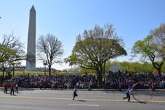 2016 nacional Cherry Blossom Parade en Washington DC Imagen de archivo