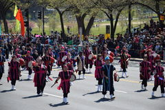 2016 nacional Cherry Blossom Parade en Washington DC Fotos de archivo