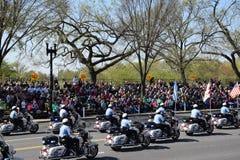 2016 nacional Cherry Blossom Parade no Washington DC Fotografia de Stock Royalty Free